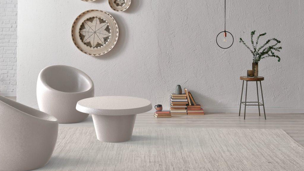 Oca Armchair and Cona Table - By ZON Design