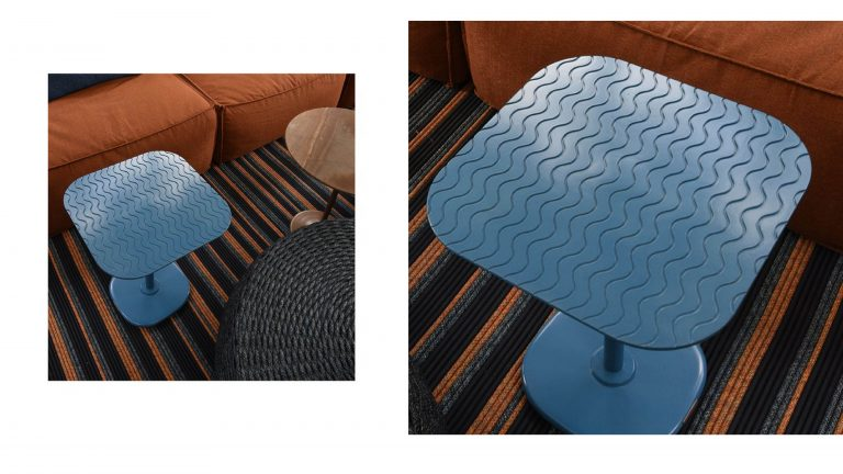 FUORISALONE . Wave Side Table - By Luciano Mandelli