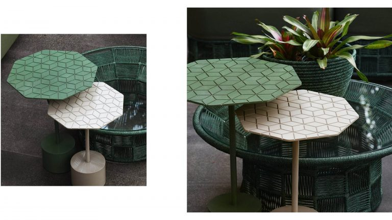 Octa Side Table - By Luciano Mandelli